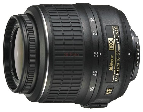 Nikon 18-55mm f/3.5-5.6G AF-S VR DX Zoom-Nikkor 1set glass