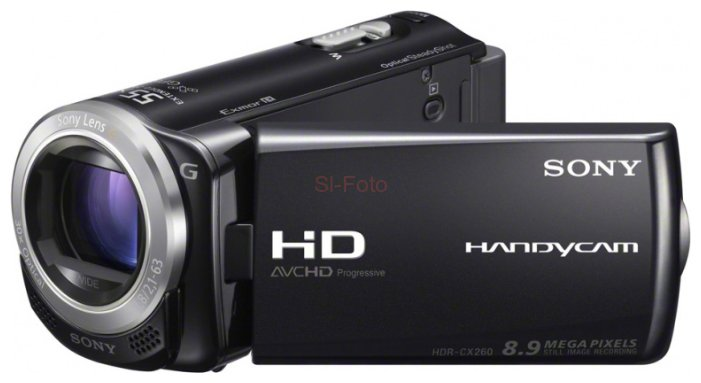 Sony HDR-CX260E карта памяти memorystick duo pro sony ms hx16b t1