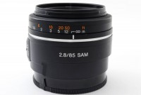 Sony 85mm f/2.8 SAM (SAL-85F28