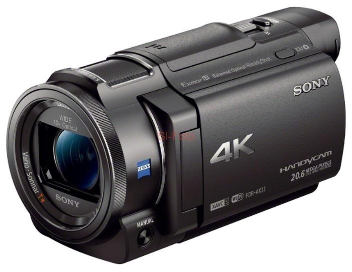 Sony FDR-AX33 видеокамера sony fdr ax33 черный flash [fdrax33b cel]