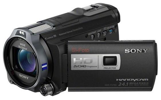 Sony HDR-PJ760VE карта памяти memorystick duo pro sony ms hx16b t1