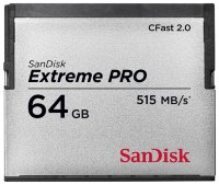 SanDisk Extreme PRO CFast 2.0 515MB/s
